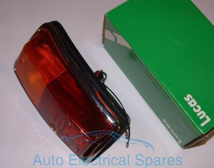 Lucas L813 rear lamp light unit COMPLETE for CLASSIC Mini MK2 off side ( right )